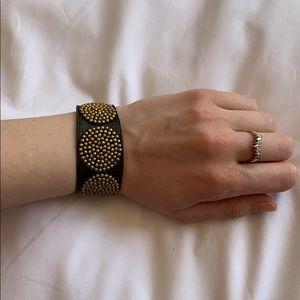 Free People Brown Leather Bracelet